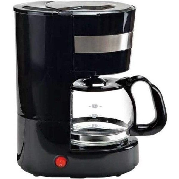国内在庫 1度に4杯分のコーヒーを淹れられます ライソン KDCF-002B ドリップコーヒーメーカー ~4杯 ブラック ついに再販開始