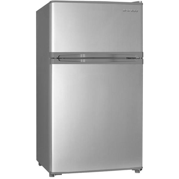 【送料無料】DAEWOO DR-T90FS シルバー [冷蔵庫 (2ドア・右開き・85L)]