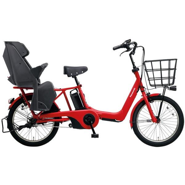 【送料無料】PANASONIC BE-ELA03-R ロイヤルレッド ギュット・アニーズ・DX [電動自転車(20インチ・内装3段変速)]【同梱配送不可】【代引き不可】【本州以外配送不可】