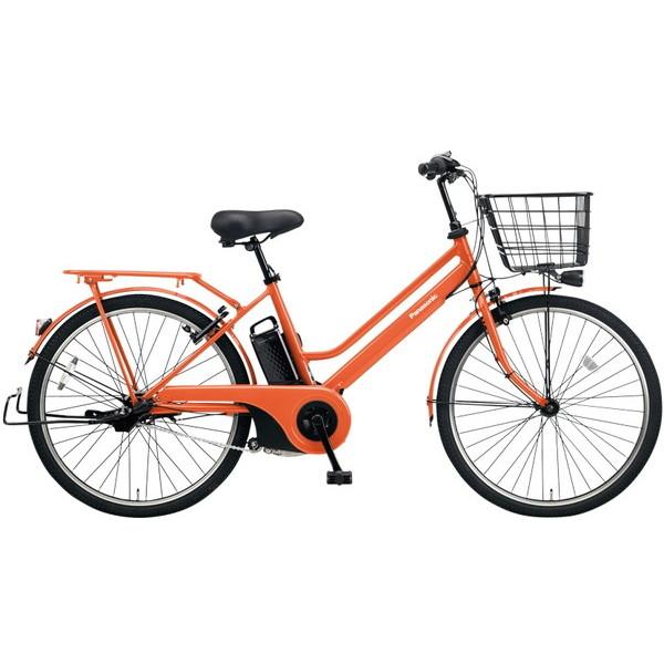 【送料無料】PANASONIC BE-ELST633-K ラセットオレンジ ティモ・S [電動自転車(26インチ・内装3段変速)]【同梱配送不可】【代引き不可】【本州以外配送不可】