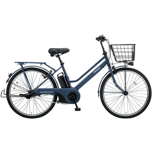 【送料無料】PANASONIC BE-ELST633-V マットネイビー ティモ・S [電動自転車(26インチ・内装3段変速)]【同梱配送不可】【代引き不可】【本州以外配送不可】