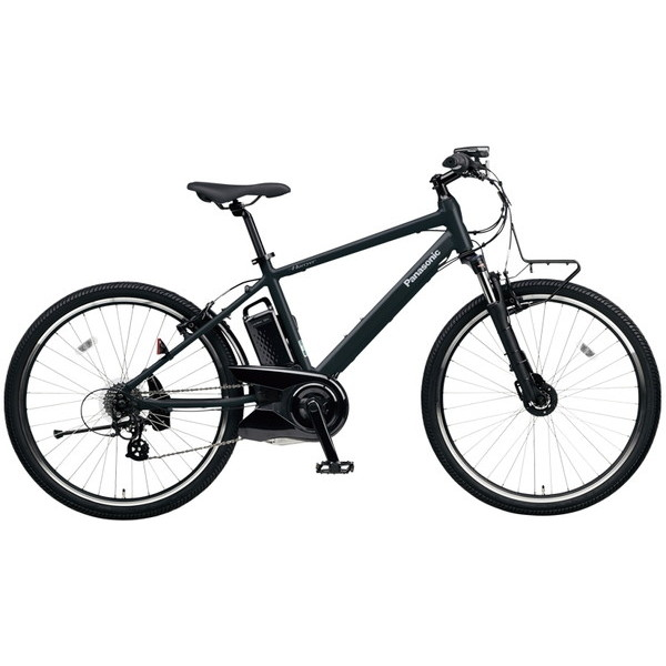 【送料無料】PANASONIC BE-ELH242-AB マットナイト ハリヤ [電動自転車(26インチ・外装7段変速)]【同梱配送不可】【代引き不可】【本州以外配送不可】