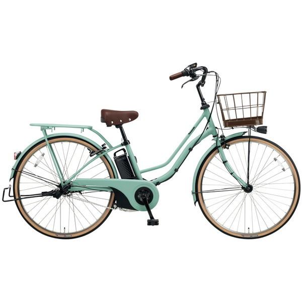 【送料無料】PANASONIC BE-ELTA63-G マットミスティグリーン ティモ・I [電動自転車(26インチ・内装3段変速)]【同梱配送不可】【代引き不可】【本州以外配送不可】