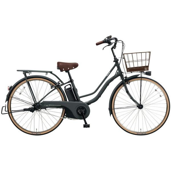 【送料無料】PANASONIC BE-ELTA63-N マットディープグレー ティモ・I [電動自転車(26インチ・内装3段変速)]【同梱配送不可】【代引き不可】【本州以外配送不可】