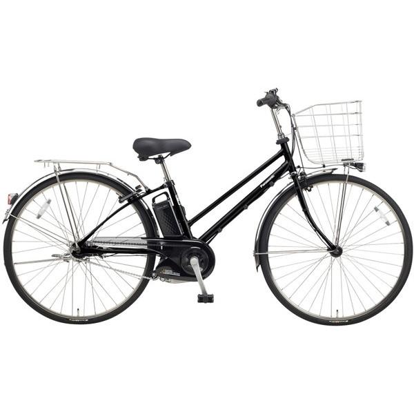 【送料無料】PANASONIC BE-ELET754-B2 マットブラック ティモ・EX [電動自転車(27インチ・内装5段変速)]【同梱配送不可】【代引き不可】【本州以外配送不可】