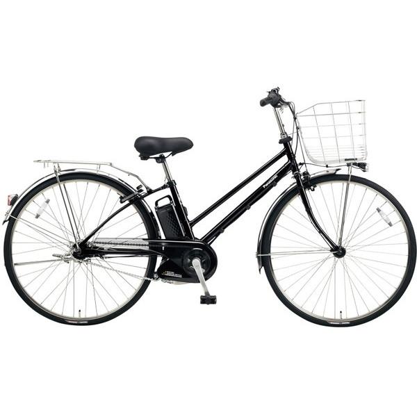 【送料無料】PANASONIC BE-ELDT754-B ピュアブラック ティモ・DX [電動自転車(27インチ・内装5段変速)]【同梱配送不可】【代引き不可】【本州以外配送不可】