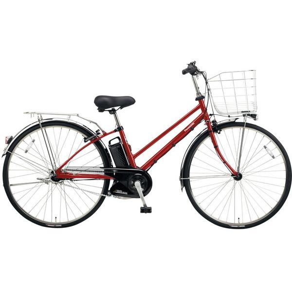 【送料無料】PANASONIC BE-ELDT754-R フレアレッドパール ティモ・DX [電動自転車(27インチ・内装5段変速)]【同梱配送不可】【代引き不可】【本州以外配送不可】