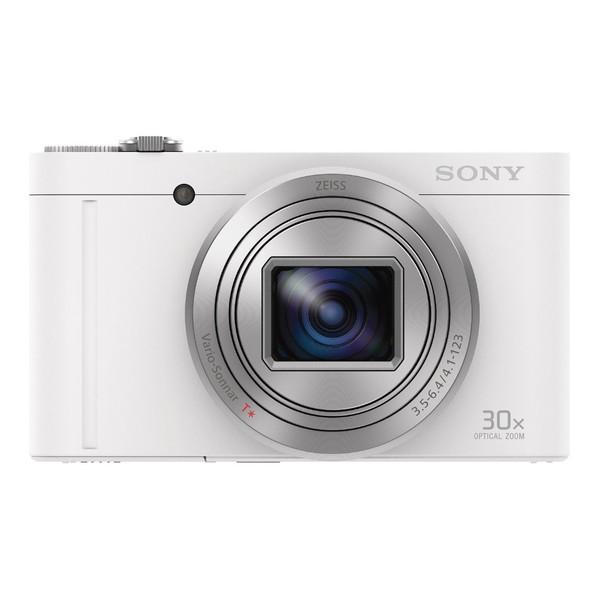 SONY Cyber-shot DSC-WX500 W ホワイト サイバーショット [コンパクトデジタルカメラ (1820万画素)]