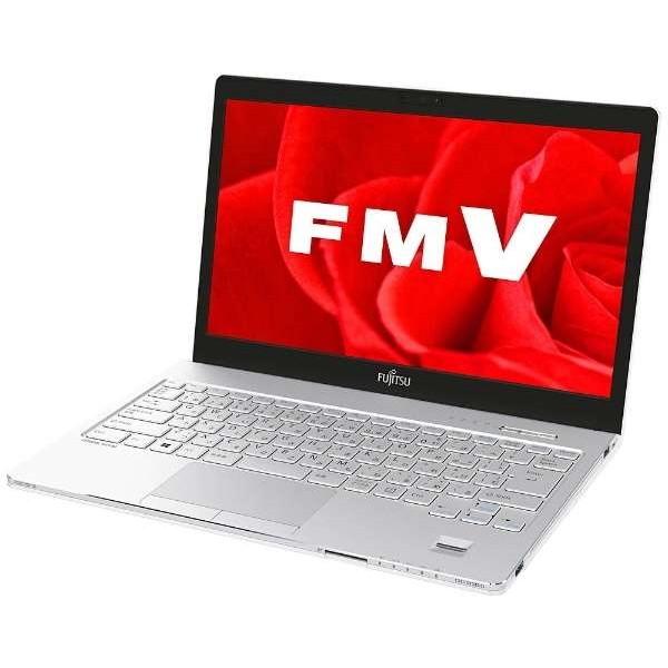 【送料無料】富士通 FMVS75B3W アーバンホワイト FMV LIFEBOOK SH75/B3 [ノートパソコン 13.3型ワイド液晶 SSD128GB DVDスーパーマルチ]