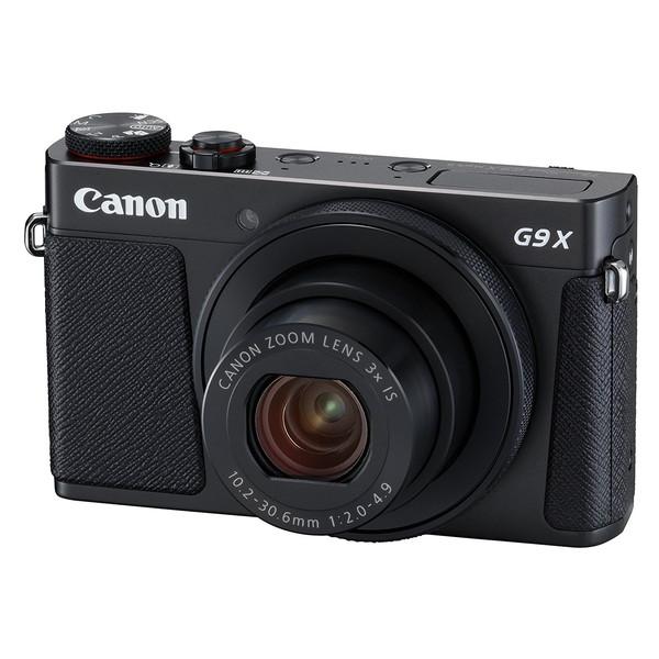 【送料無料】CANON PowerShot G9 X Mark II ブラック [コンパクトデジタルカメラ (2010万画素)]