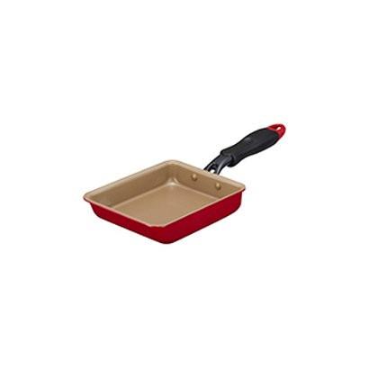 ドウシシャ EFPTK13RD evercook エバークック 卵焼き 13×18cm レッド台所用品 クッキング 料理 キッチン用品 調理器具
