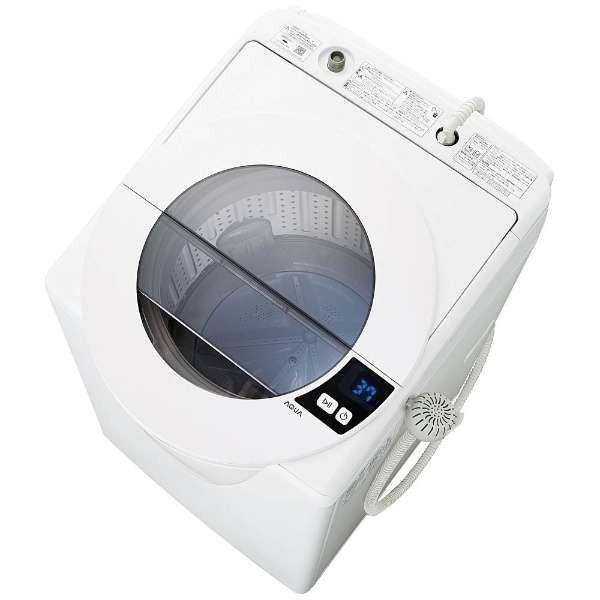【送料無料】AQUA AQW-LV800F-W シャイニーホワイト SLASH [全自動洗濯機 (8.0kg)]