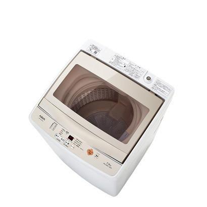 【送料無料】AQUA AQW-GS70F-W [簡易乾燥機能付き洗濯機(7.0kg)]