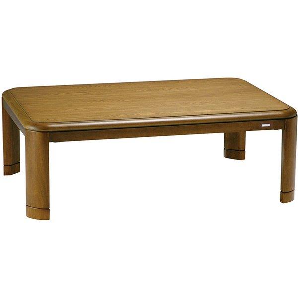 【送料無料】こたつ テーブル コイズミ KTR-3479 家具 インテリア テーブル リモコン付遠赤ファンクウォーツヒーター ワンタッチ取付金具 工具不要 UV加工