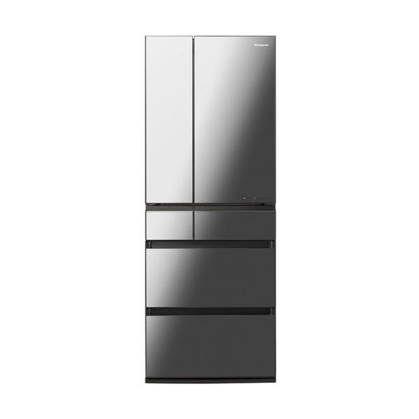 AIエコナビ を搭載したIoT対応冷蔵庫 幅68.5cm たっぷり収納できる大容量600L PANASONIC NR-F607WPX-X フレンチドア WPXタイプ オニキスミラー 冷蔵庫 日本製 開店祝い 600L