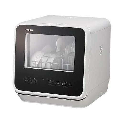 約75℃すすぎで99.9%除菌 食洗機 食器洗い乾燥機 食器乾燥機 工事不要 ホワイト おしゃれ 東芝 節水 『1年保証』 簡単操作 約75℃すすぎで99.9% 食器15点節水 除菌 送風乾燥 本日限定 高温加圧洗浄 DWS-22A