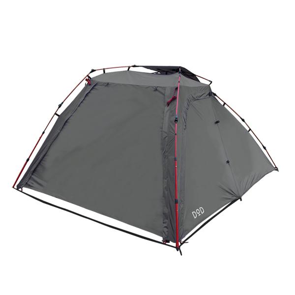 バイクが愛しいあなたへ バイクツーリングキャンプを愛するすべてのライダーへ バイクと一緒に寝られるテント DOD T2-466 ラック ライダーズバイクインテント 引出物 アウトドア ソロキャンプ レジャー キャンプ メーカー公式