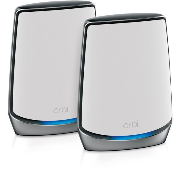 <title>人気海外一番 WiFi6テクノロジー搭載 トライバンドメッシュWiFi6ルーターセット NETGEAR RBK852-100JPS Orbi AX6000 トライバンドメッシュWiFi6 システム スターターキット 2台セット</title>