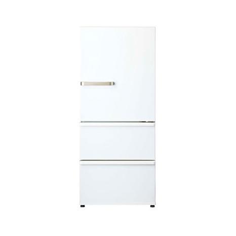省エネ性能が向上した3ドア冷蔵庫 AQUA AQR-27K-W ウォームホワイト 上品 冷蔵庫 右開き お気に入り 272L