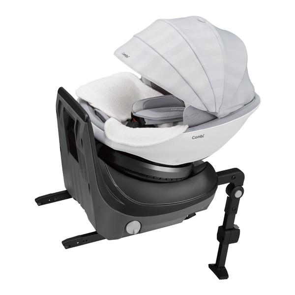 物品 はじめて乗るクルマに ベッドを超えた新空間 Combi クルムーヴスマート ISOFIX JK-800 エッグショック ホワイト ホワイトレーベル チャイルドシート 超定番