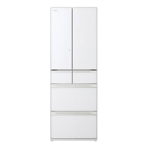 「まるごとチルド」搭載で、冷蔵室の棚がまるごとチルドルームだからまとめ買いした食品も置き場所に悩まずどこでも入れられます。 日立 R-HW54R(XW) クリスタルホワイト [冷蔵庫(540L・フレンチドア)]