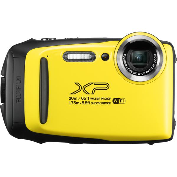 【送料無料】富士フイルム FinePix XP130 イエロー [コンパクトデジタルカメラ (1640万画素)]