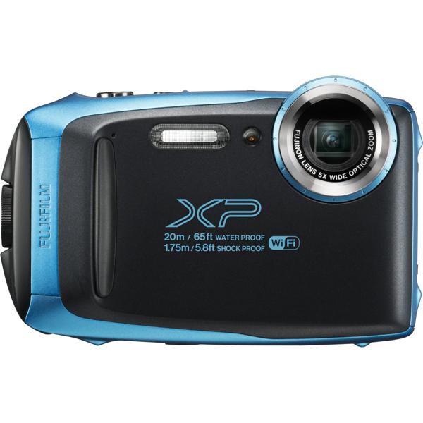 【送料無料】富士フイルム FinePix XP130 スカイブルー [コンパクトデジタルカメラ (1640万画素)]【同梱配送不可】【代引き不可】【沖縄・離島配送不可】