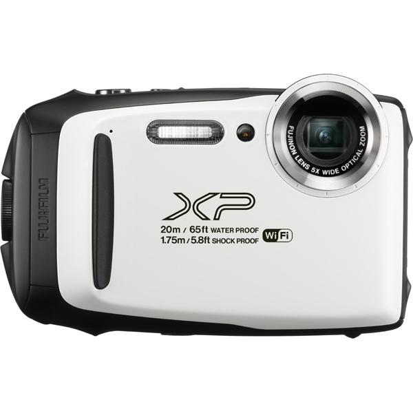 【送料無料】富士フイルム FinePix XP130 ホワイト [コンパクトデジタルカメラ (1640万画素)]【同梱配送不可】【代引き不可】【沖縄・離島配送不可】