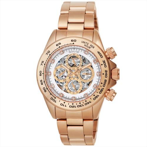 【送料無料】SONNE S159PGW オートマチック ブレス [腕時計(メンズ)], 靴下のひかり屋:6038bebf --- sunward.msk.ru