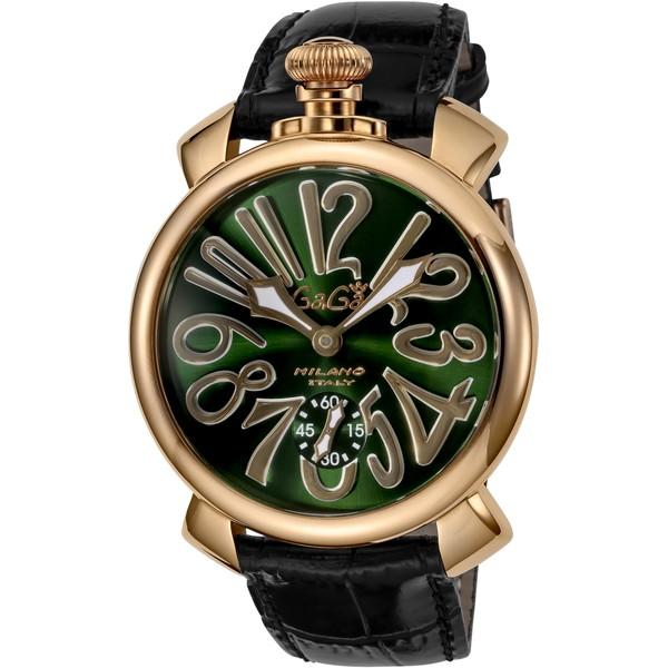 【送料無料】GAGA milano(ガガミラノ) 5011.04S-BLK MANUALE 48MM [手巻き腕時計(メンズウオッチ)] 【並行輸入品】