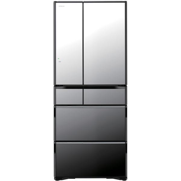 【送料無料】日立 R-WX62J(X) クリスタルミラー 真空チルド ラグジュアリー WXシリーズ [冷蔵庫(615L・フレンチドア)]