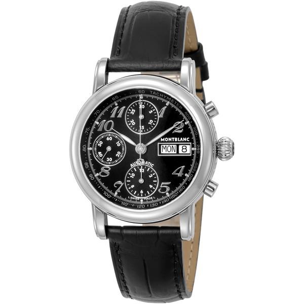 【送料無料】Montblanc(モンブラン) 8451 ブラック スター [自動巻き腕時計(メンズウオッチ)]