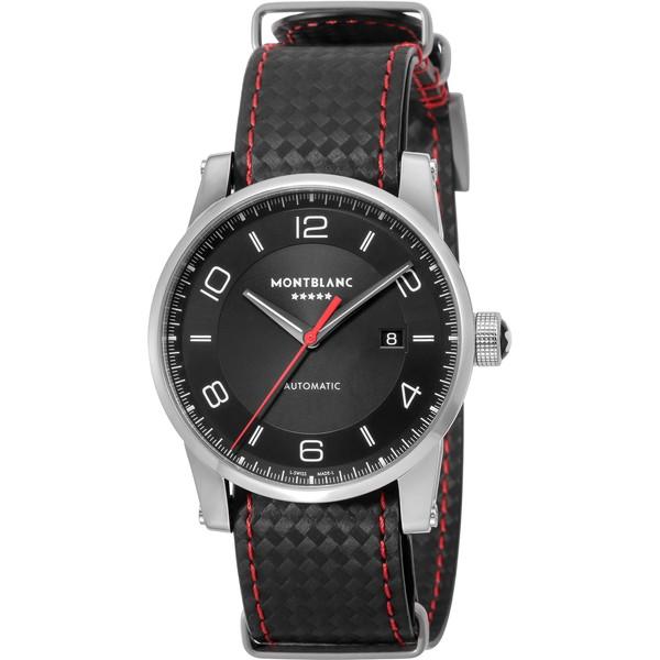 【送料無料】Montblanc(モンブラン) 115361 ブラック タイムウォーカー リン・ダン 限定モデル [自動巻き腕時計(メンズウオッチ)]