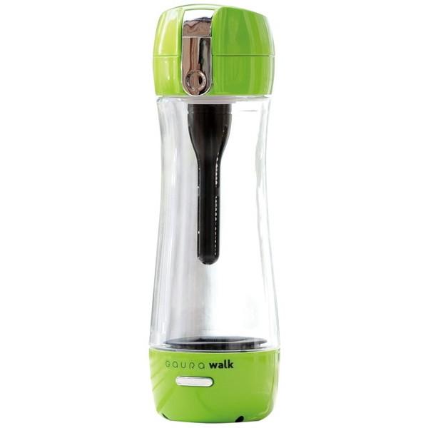 【送料無料】GAURA GR-JGN グリーン GAURAwalk [ポータブル水素水ボトル(300ml)]【クーポン対象商品】