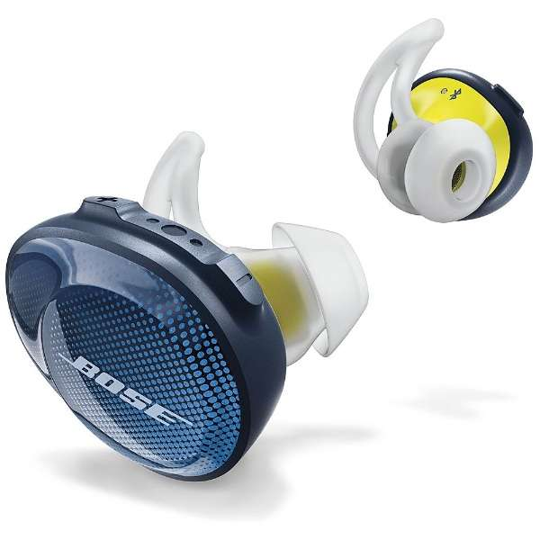 BOSE SSPORTFREEBLU ミッドナイトブルー×イエローシトロン [完全ワイヤレスイヤホン(Bluetooth・カナル型)]