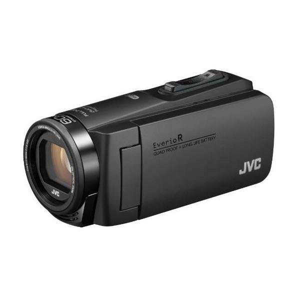 ビデオカメラ JVC ( ビクター / VICTOR ) 64GB 大容量バッテリー GZ-RX680-B マットブラック 約4.5時間連続使用可能 防水 防滴 防塵 耐衝撃 耐低温 旅行 成人式 卒園 入園 卒業式 入学式 結婚式 出産 アウトドア 学芸会 小型 小さい
