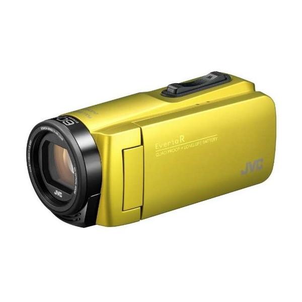 ビデオカメラ JVC ( ビクター / VICTOR ) 32GB 大容量バッテリー GZ-R480-Y シトロンイエロー Everio R エブリオ 約5時間連続使用可能 旅行 卒園 入園 卒業式 入学式 成人式 結婚式 出産 アウトドア 学芸会 小型 小さい