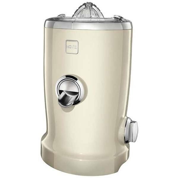 【送料無料】NOVIS 6511.01.64 ホワイト vita juicer(ビタジューサー) [シトラス搾り機能付きジューサー]【クーポン対象商品】