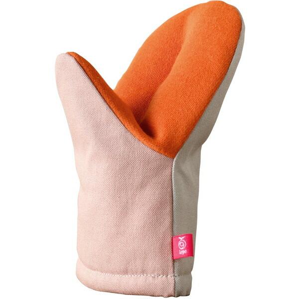 アツアツ料理の熱から手を守る AUX LS1561 グッとつかめる耐熱ミトン leye レイエ 1年保証 豪華な グレー ピンク