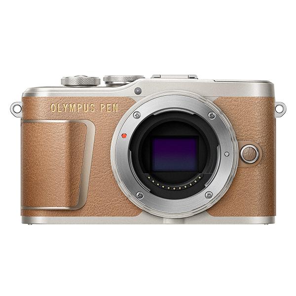 【送料無料】OLYMPUS E-PL9 ボディー ブラウン [ミラーレス一眼カメラ (レンズ別売)]