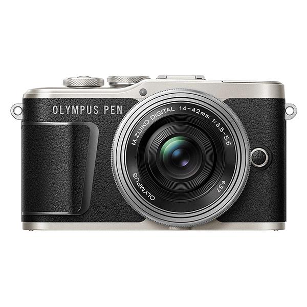 【送料無料】OLYMPUS E-PL9 14-42mm EZレンズキット ブラック [ミラーレス一眼カメラ]