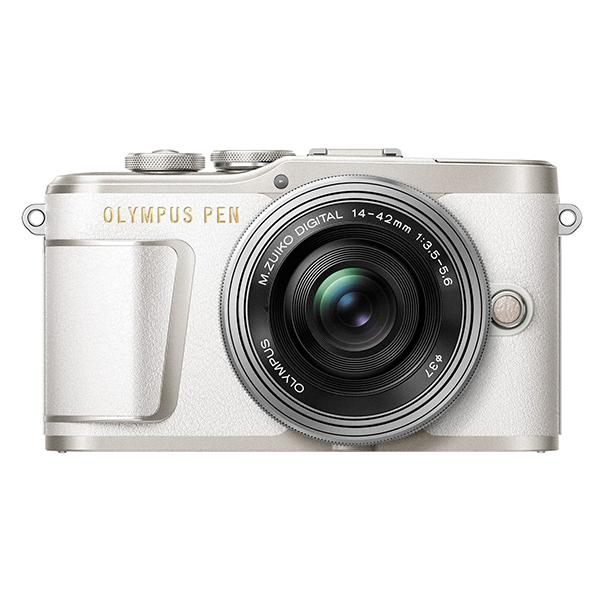 【送料無料】OLYMPUS E-PL9 14-42mm EZレンズキット ホワイト [ミラーレス一眼カメラ]