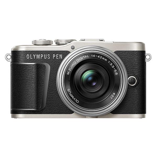 【送料無料】OLYMPUS E-PL9 EZダブルズームキット ブラック [ミラーレス一眼カメラ]