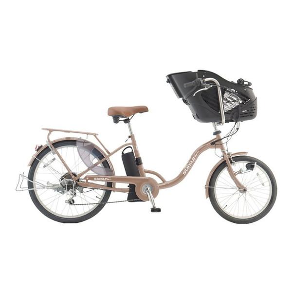 【送料無料】kaihou KH-DCY07SGO シャンパンゴールド スイスイ [電動自転車(20/24インチ・外装6段)]【同梱配送不可】【代引き不可】【沖縄・北海道・離島配送不可】