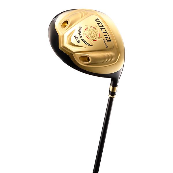 【送料無料】カタナゴルフ VOLTIO NINJA PLUS 8802Hi ゴールド ドライバー 超高反発 オリジナルSpeeder 462 EVOLUTION カーボンシャフト 9.5 フレックス:R 【日本正規品】