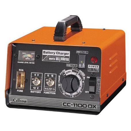 【送料無料】CELLSTAR CC-1100DX [バッテリー充電器]