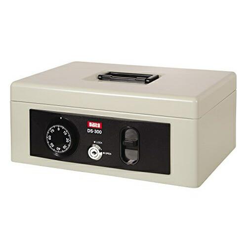 1318-DS-300 手提金庫 大幅値下げランキング DS-300 グレーホワイト 販売期間 限定のお得なタイムセール