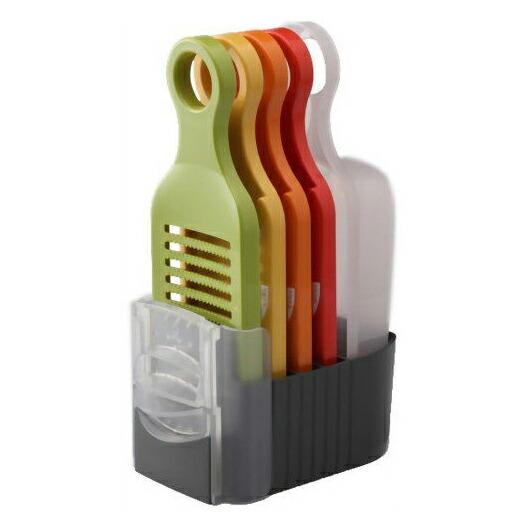 引出物 愛工業 高価値 21012 野菜調理器 Qシリーズ Aセット