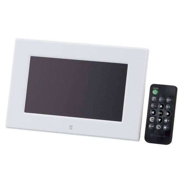 【送料無料】GREEN GH-DF7V-WH HOUSE HOUSE GH-DF7V-WH ホワイト ホワイト [7型ワイドデジタルフォトフレーム], 主婦のMIKATA:0c2563a8 --- sunward.msk.ru