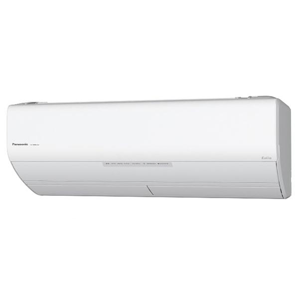 【送料無料】PANASONIC CS-408CX2-W クリスタルホワイト エオリア Xシリーズ [エアコン(主に14畳用・200V対応)]
